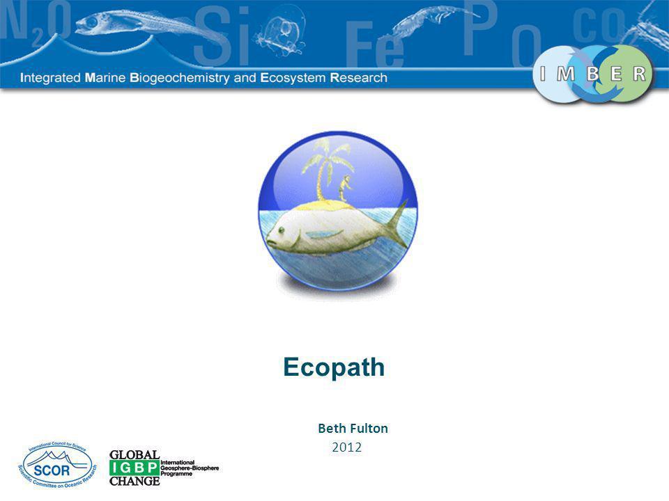 Ecopath Beth Fulton 2012