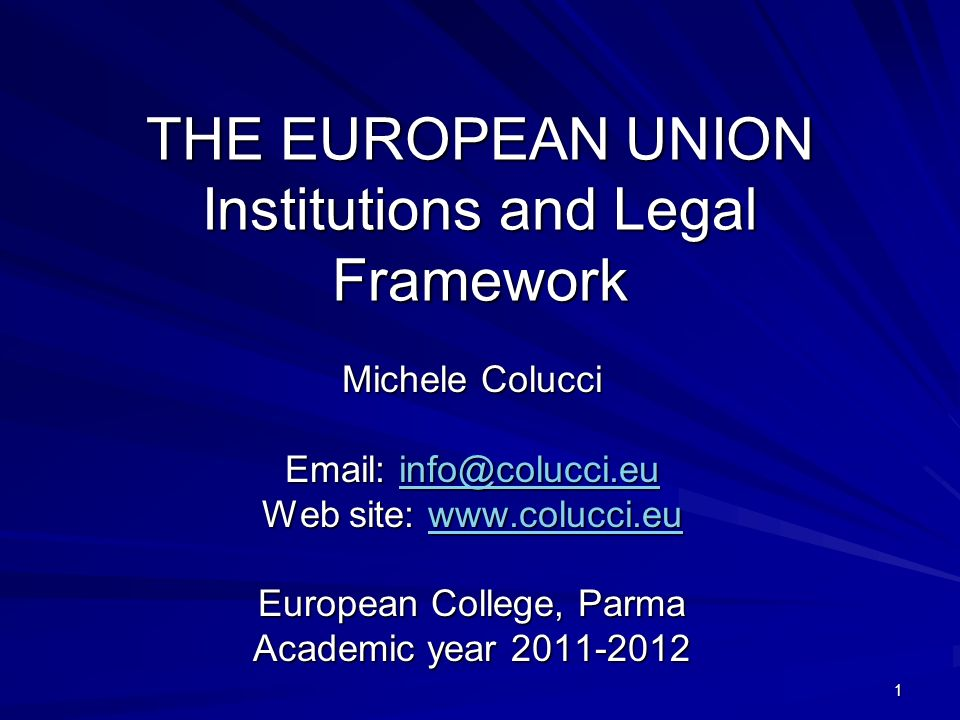 2 PURPOSES OF THIS COURSE INTRODUCING THE EU LEGAL ORDER UNDERSTANDING THE EU INSTITUTIONS MECHANISM EU LAW IN MOTION THE FUTURE OF THE EU:BEYOND THE LISBON TREATY