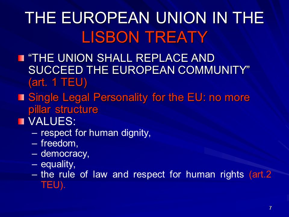 28 THE COURT OF JUSTICE Role to ensure that: – EU law is complied with – Treaties are correctly interpreted and applied.