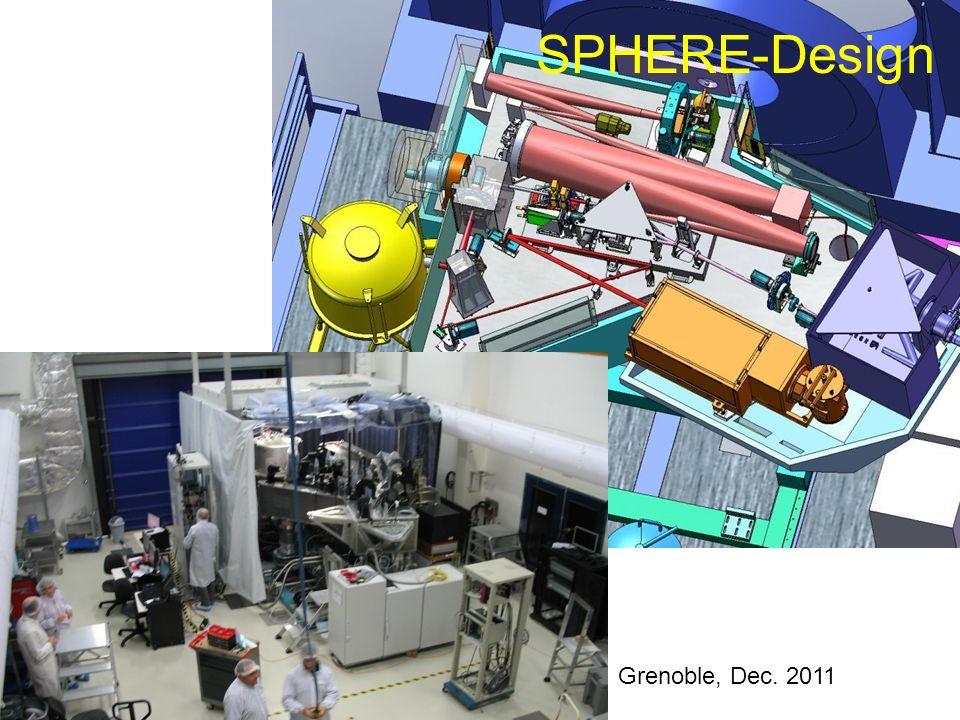 SPHERE-Design Grenoble, Dec. 2011