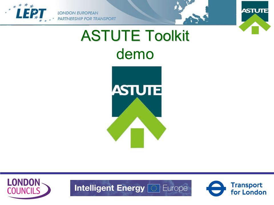 ASTUTE Toolkit ASTUTE Toolkit demo