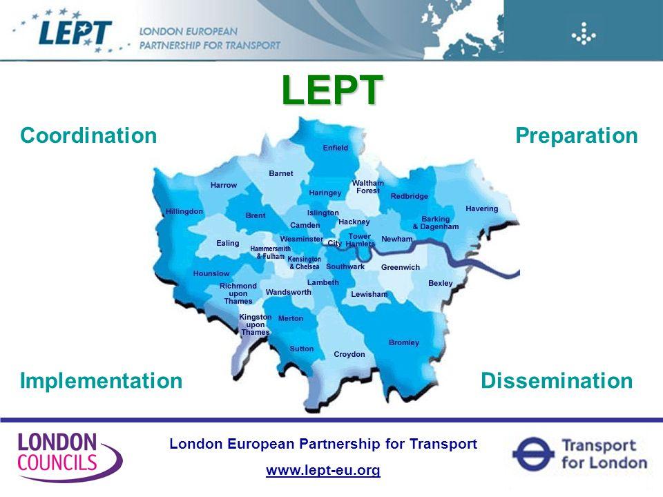 London European Partnership for Transport www.lept-eu.org LEPT Projects PLUS