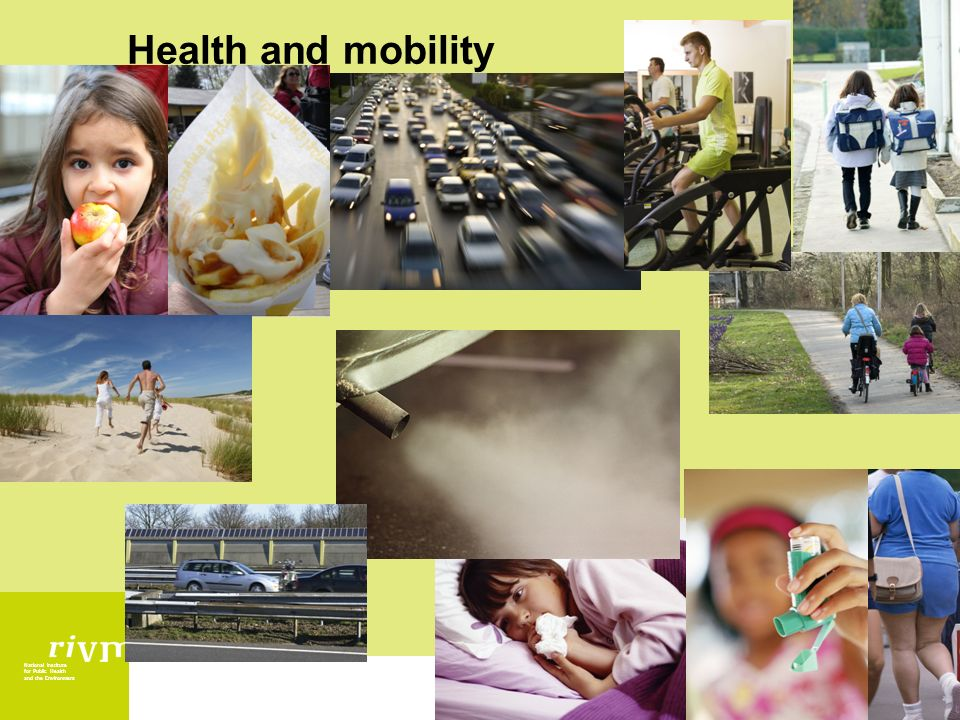 National Institute for Public Health and the Environment Health and mobility