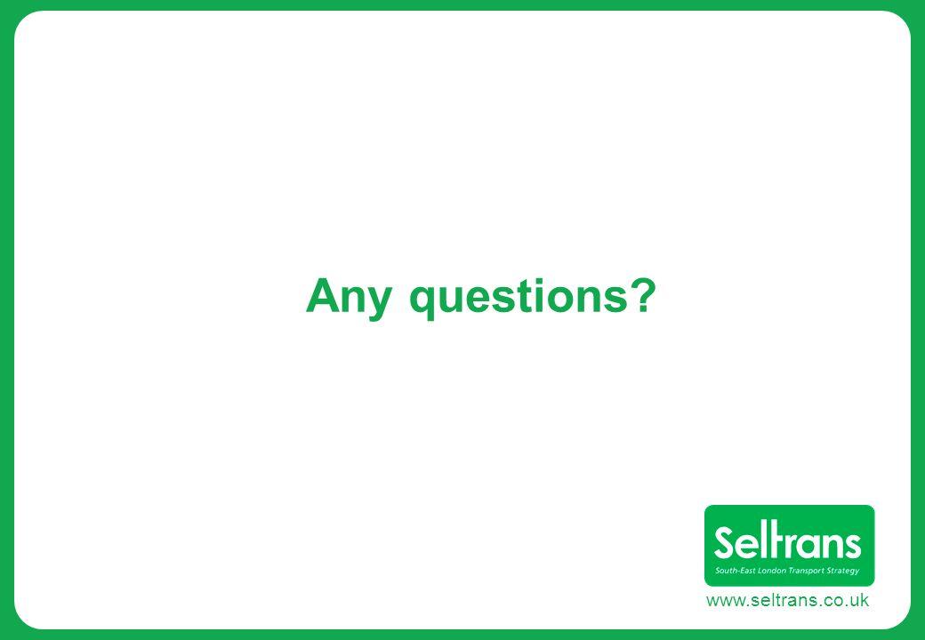 www.seltrans.co.uk Any questions?
