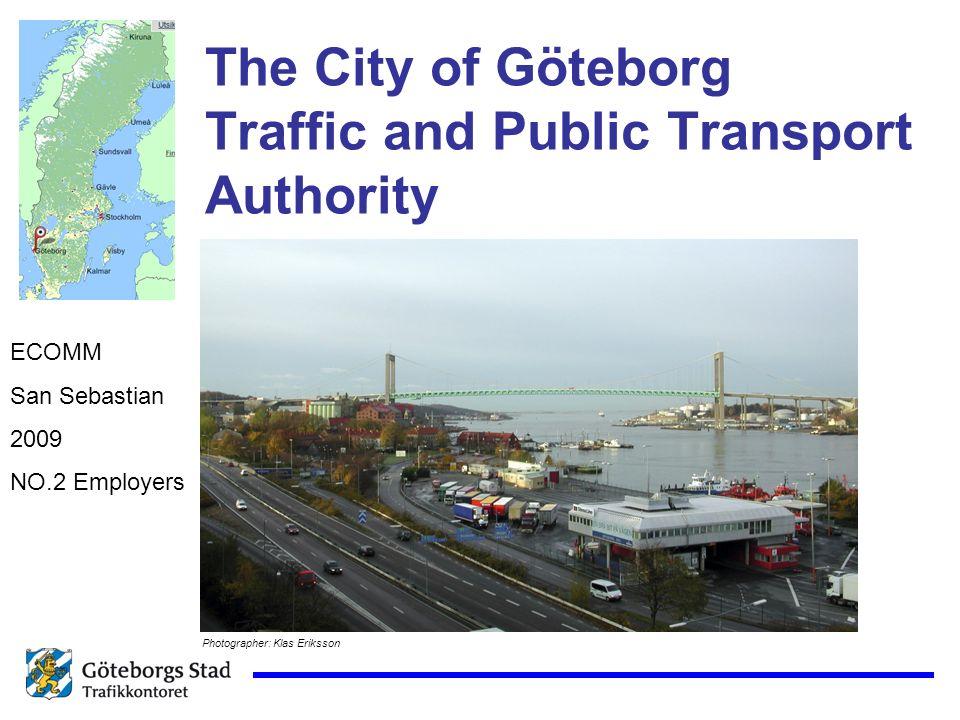 The City of Göteborg Traffic and Public Transport Authority ECOMM San Sebastian 2009 NO.2 Employers Photographer: Klas Eriksson