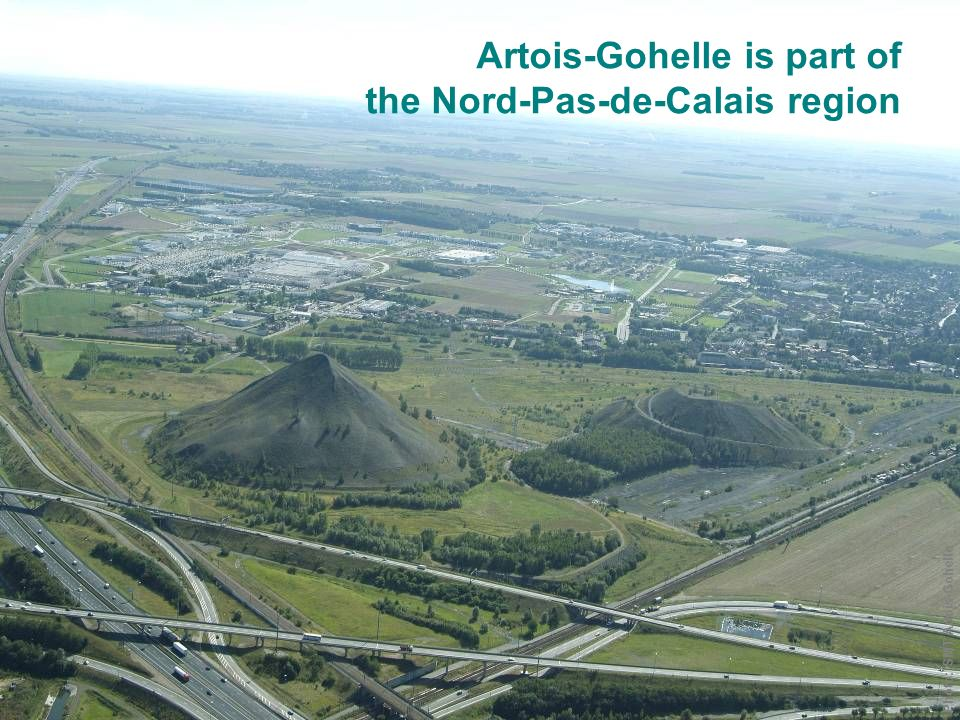 Artois-Gohelle is part of the Nord-Pas-de-Calais region Photo: SMT Artois-Gohelle