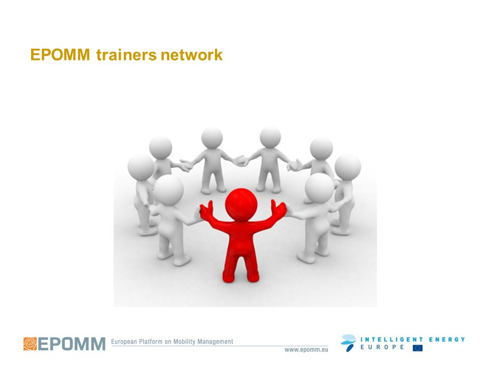 EPOMM trainers network