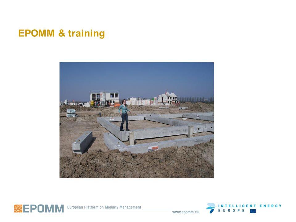 EPOMM training database