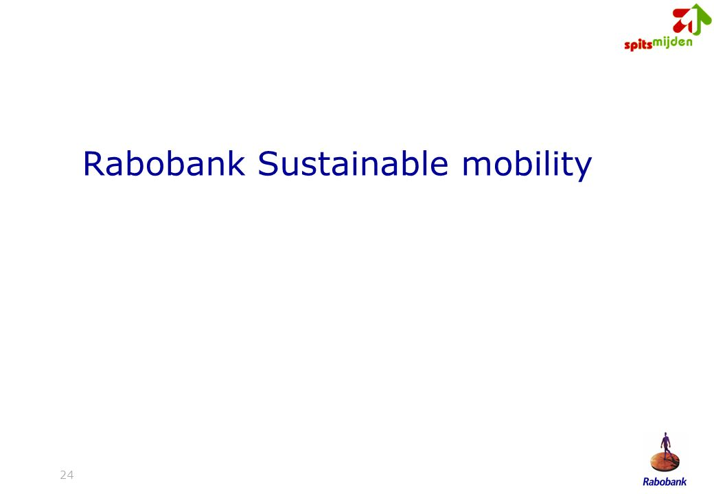 24 Rabobank Sustainable mobility