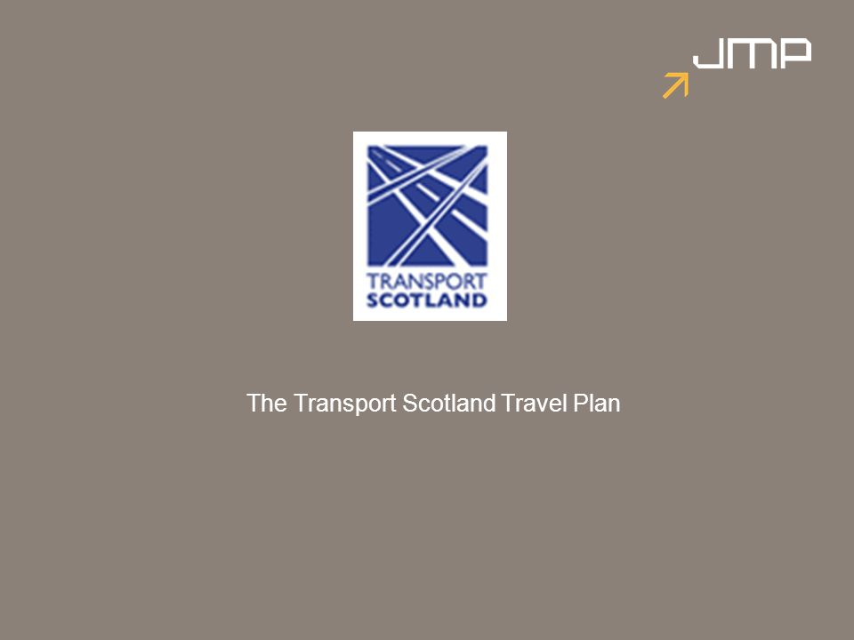 The Transport Scotland Travel Plan