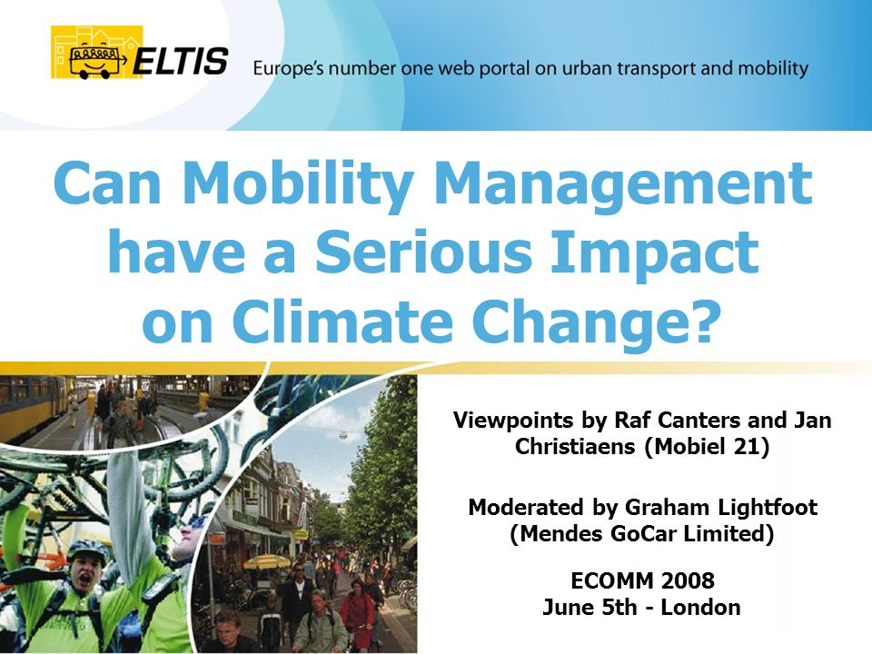 Can Mobility Management have a Serious Impact on Climate Change.