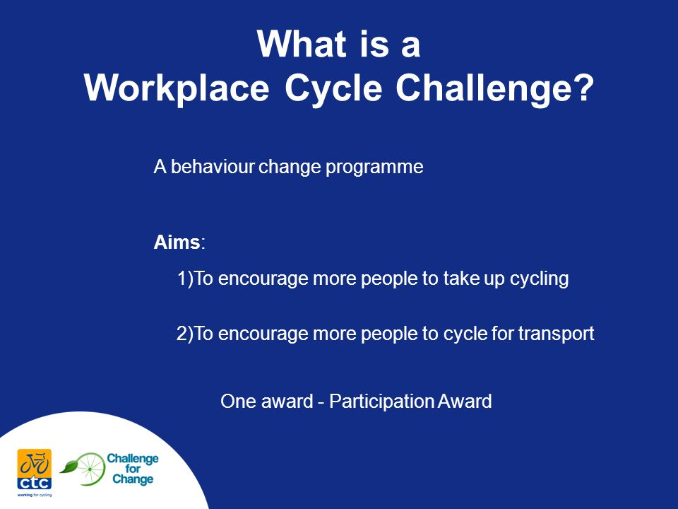 What is a Workplace Cycle Challenge.
