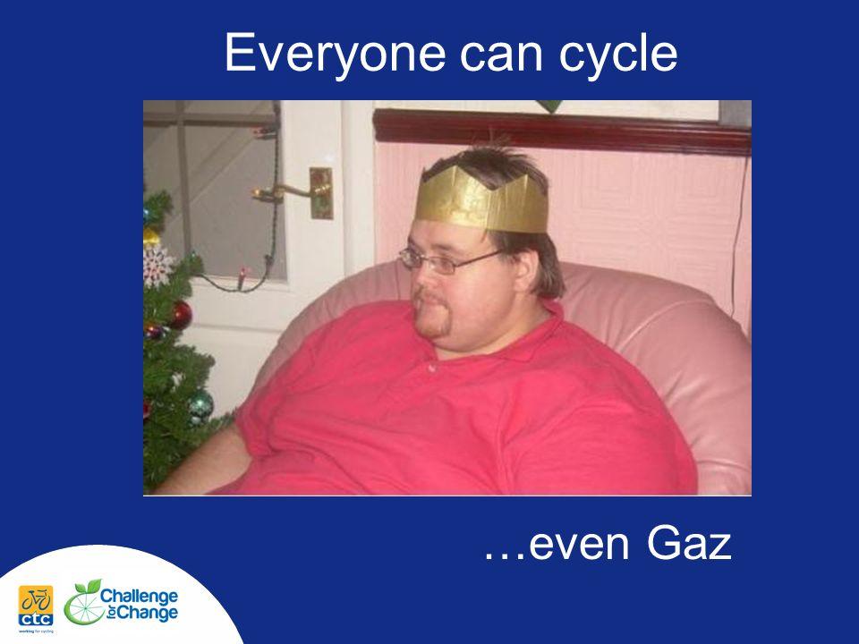 The amazing 39 stone cyclist