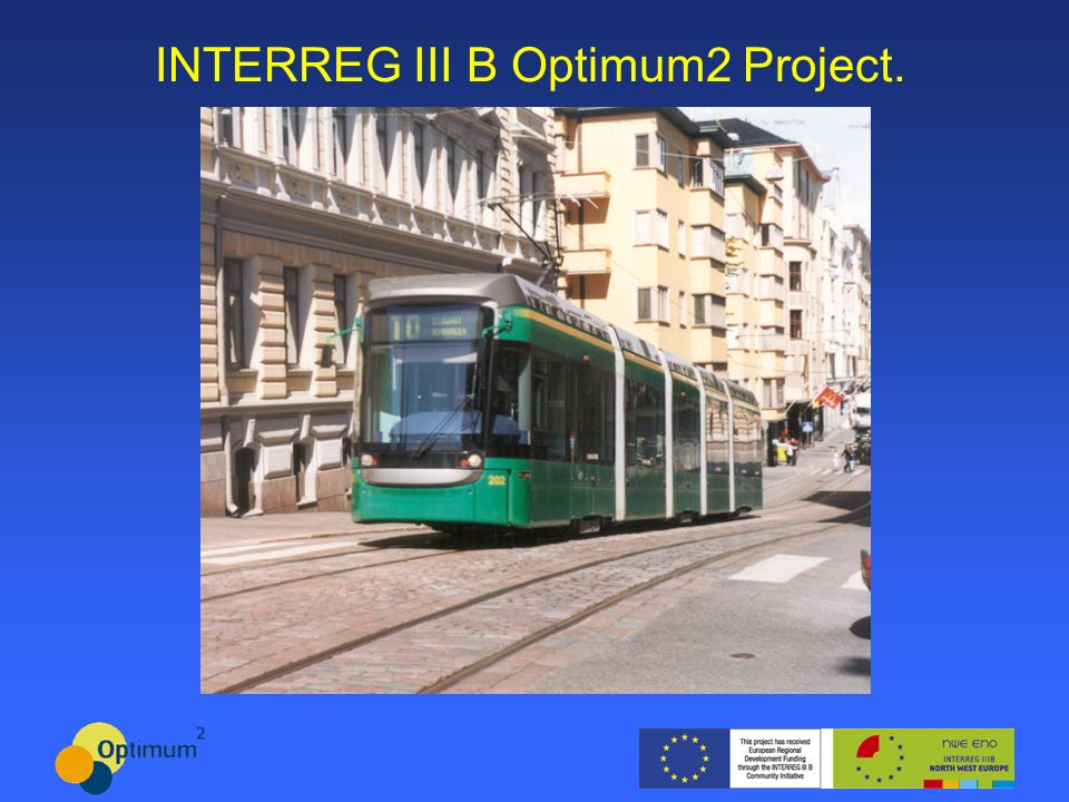 INTERREG III B Optimum2 Project.