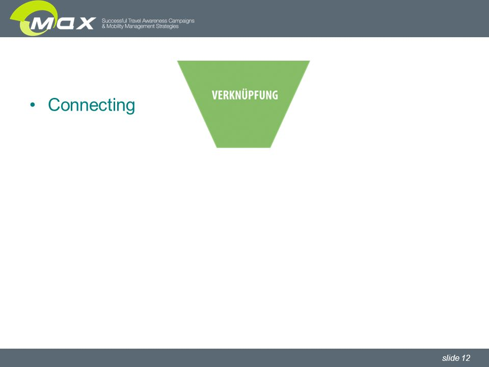 slide 12 Connecting