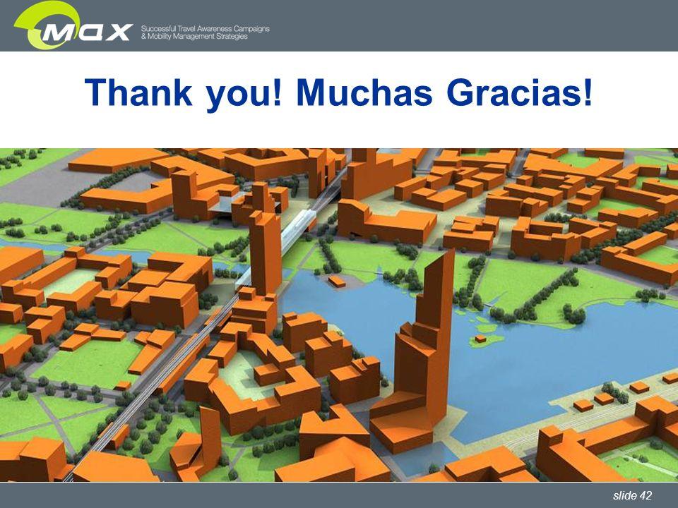 slide 42 Thank you! Muchas Gracias!