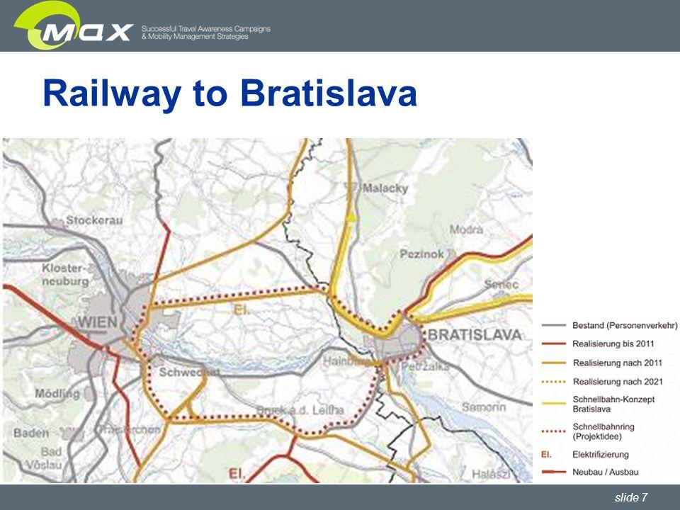 slide 7 Railway to Bratislava