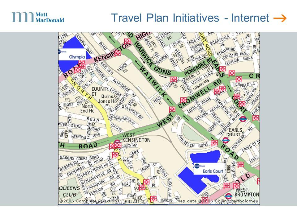 Travel Plan Initiatives - Internet