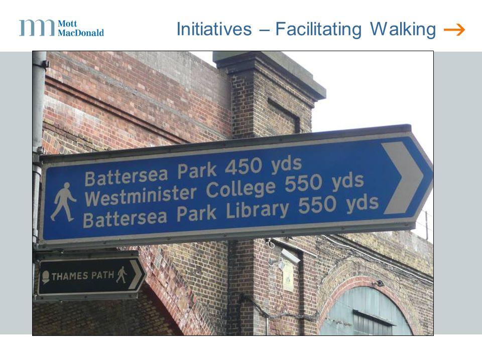 Initiatives – Facilitating Walking