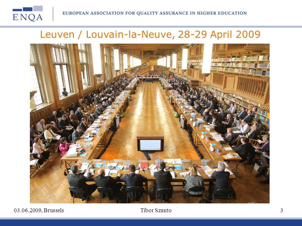 03.06.2009, Brussels Tibor Szanto 3 Leuven / Louvain-la-Neuve, 28-29 April 2009