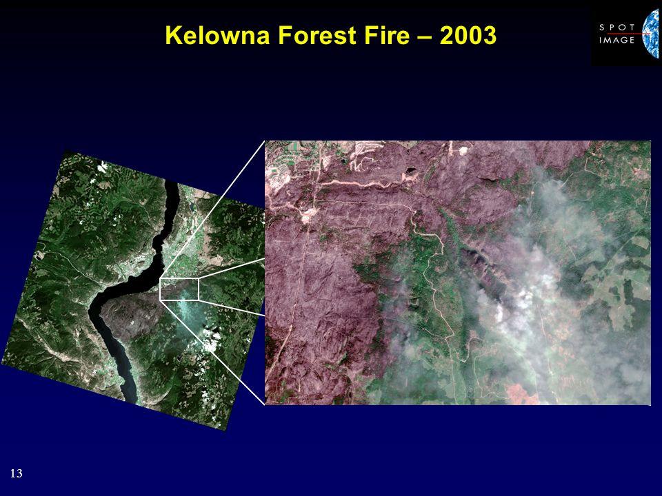 13 Kelowna Forest Fire – 2003