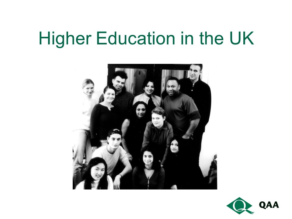 Higher Education in the UK