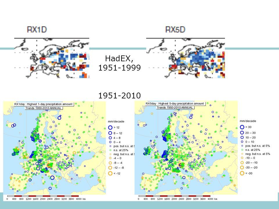 HadEX, 1951-1999 1951-2010