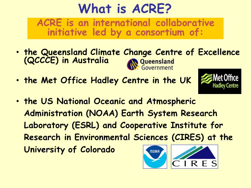 What is ACRE.