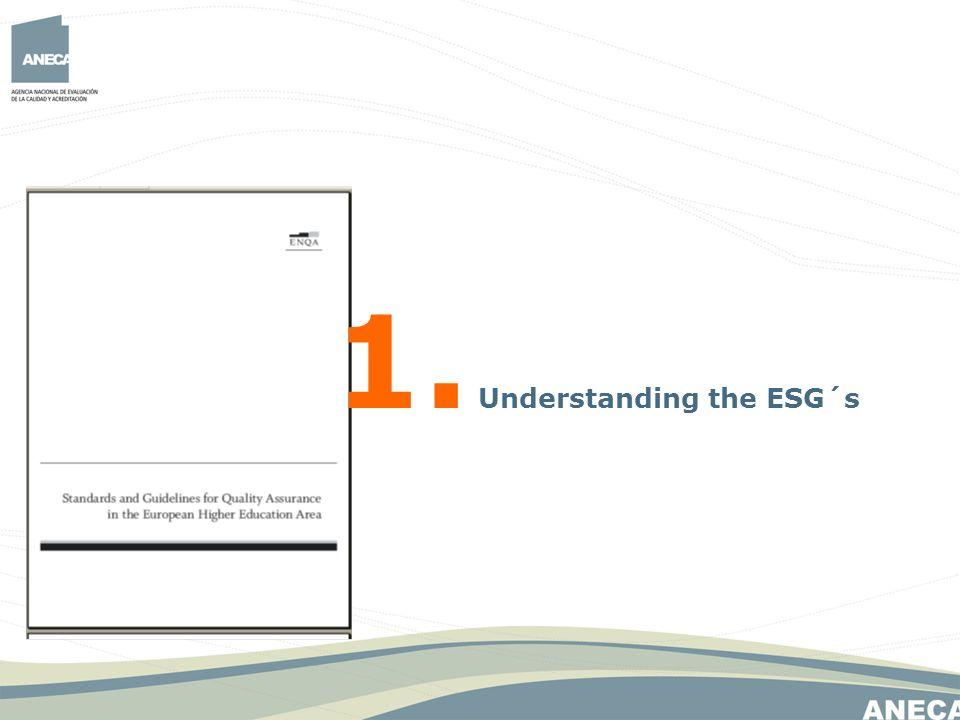1. Understanding the ESG´s