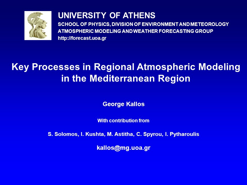 Physiographic characteristics are partially responsible for the formation of particular climatic conditions in the Mediterranean Region.