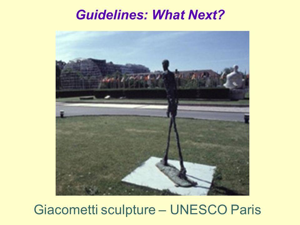 Guidelines: What Next? Giacometti sculpture – UNESCO Paris