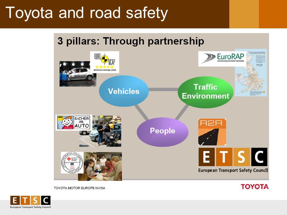 Toyota and road safety