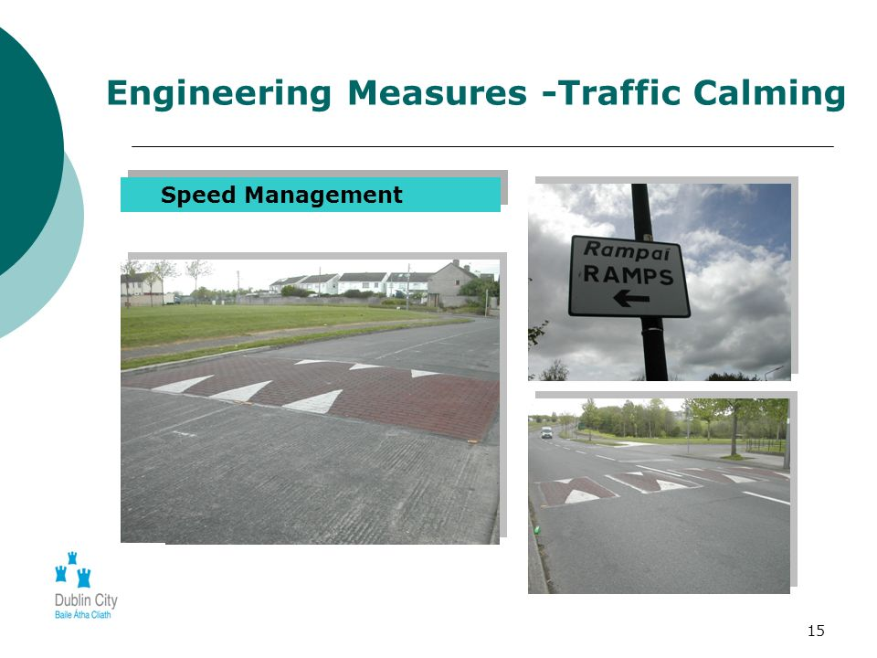 15 Engineering Measures -Traffic Calming Speed Management