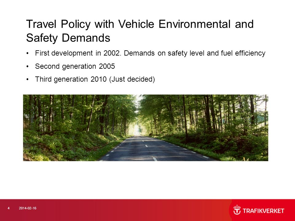 ISO/PC 241, Road traffic safety management systems, 2009 The road transport system is an open and complex system… Infrastructure Vehicles Road Transportation of goods and passengers Road users during the execution of their duties Corporations and organizations Regulatory framework Monitoring Etc..