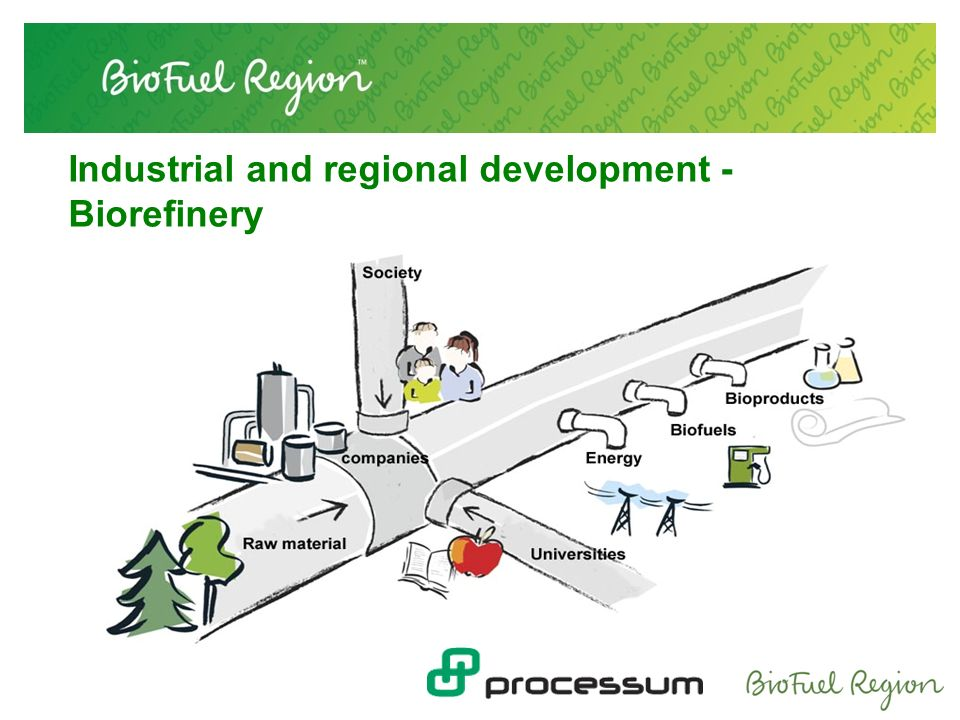 Industrial and regional development - Biorefinery