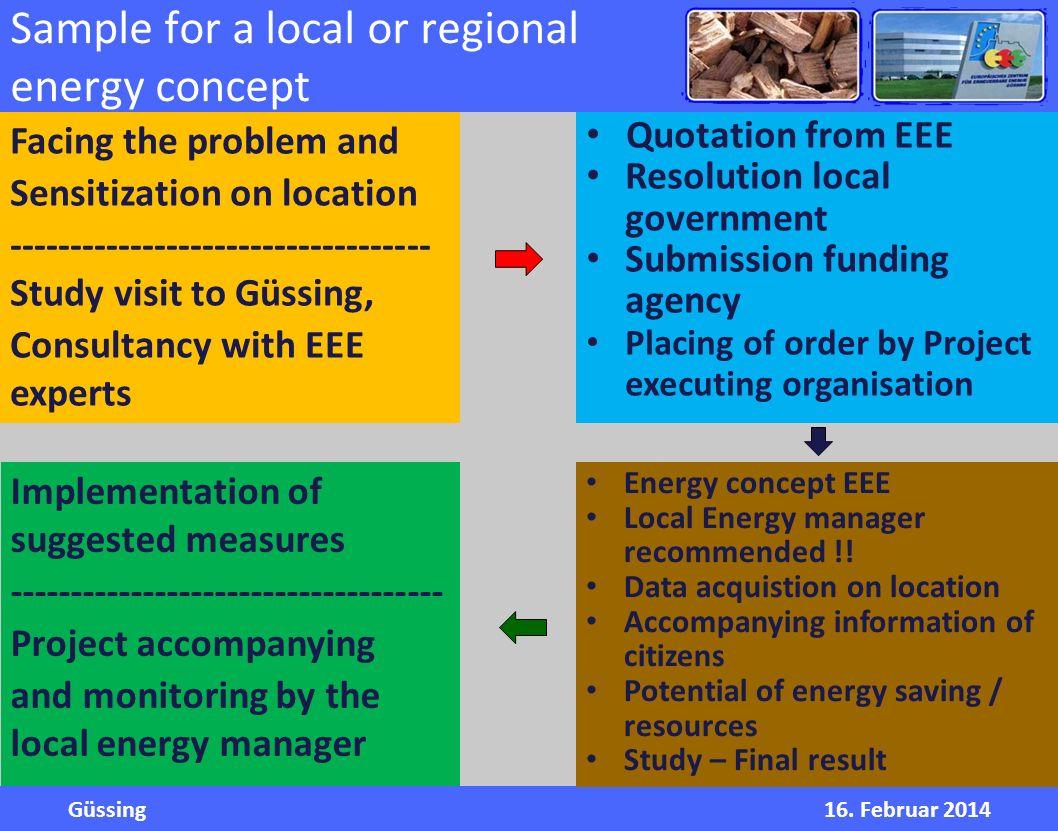 Güssing16. Februar 2014 Renewable Energies