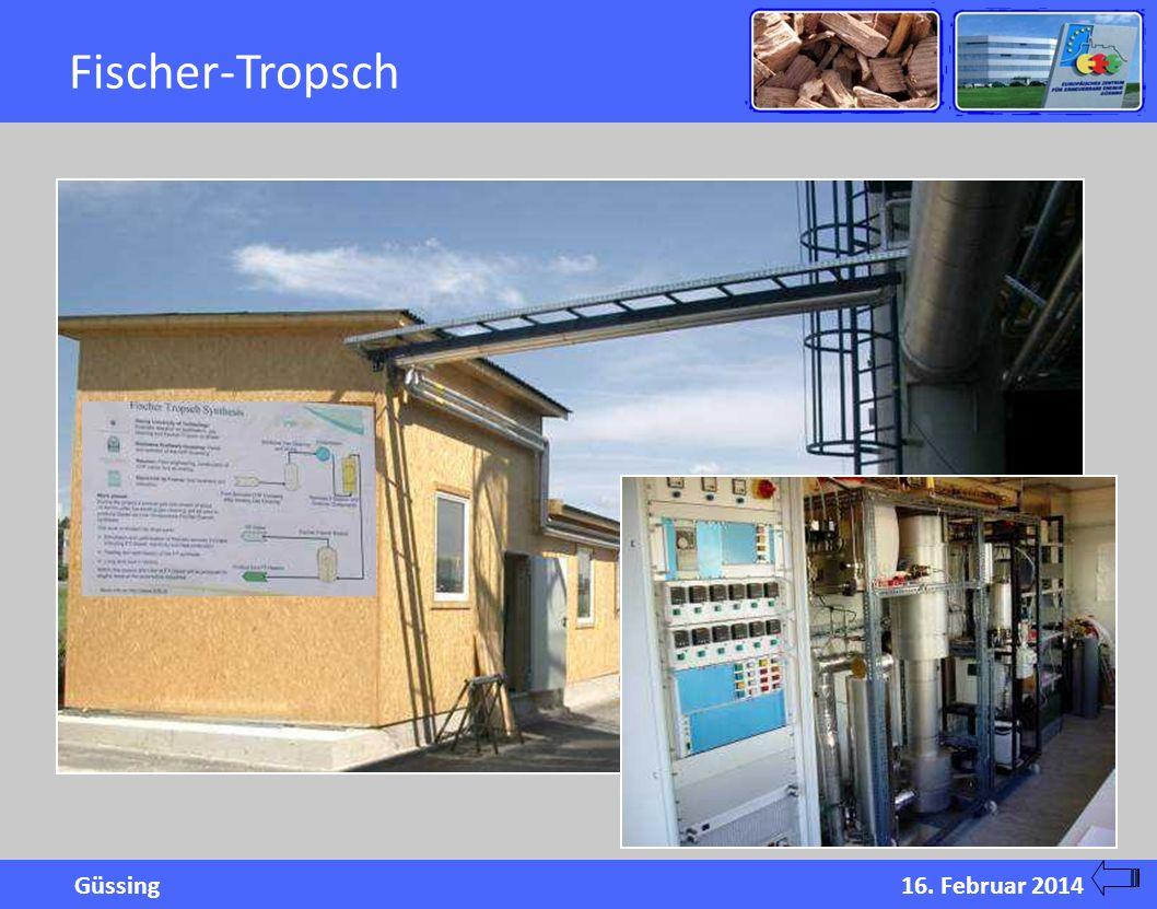 Güssing16. Februar 2014 Fischer-Tropsch