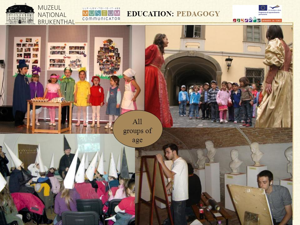 EDUCATION: PEDAGOGY All groups of age