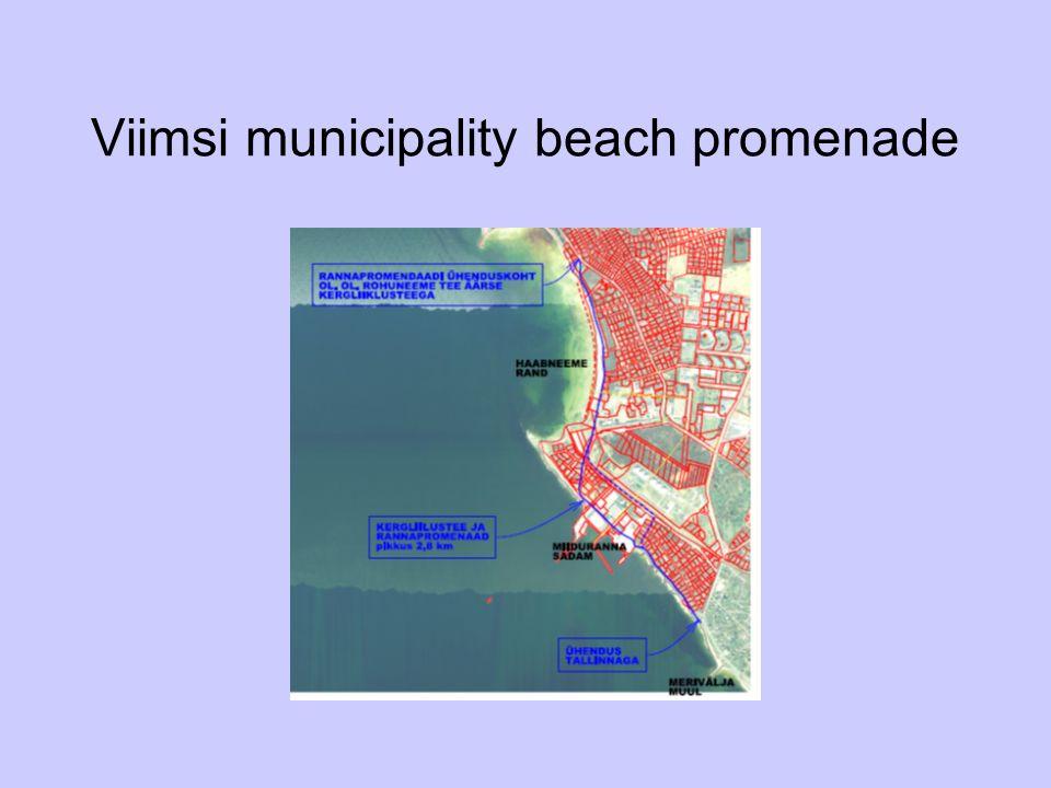 Viimsi municipality beach promenade