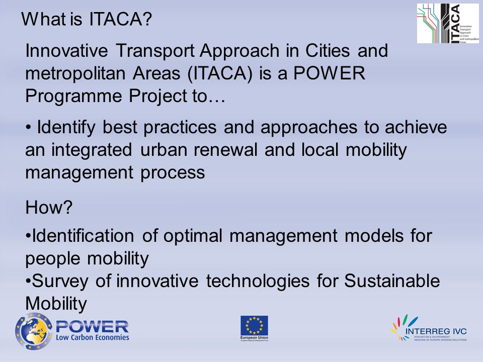 What is ITACA.