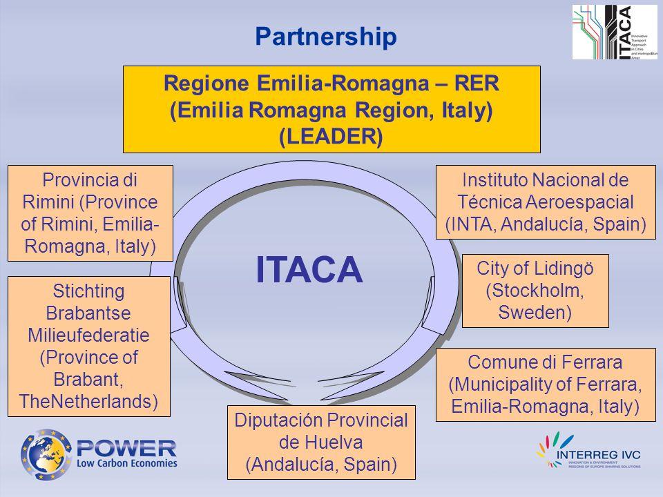Partnership Regione Emilia-Romagna – RER (Emilia Romagna Region, Italy) (LEADER) Stichting Brabantse Milieufederatie (Province of Brabant, TheNetherla