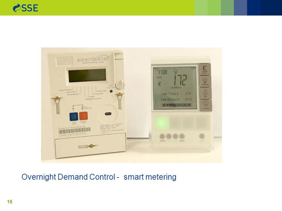 15 Overnight Demand Control - smart metering