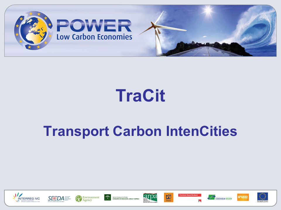 TraCit Transport Carbon IntenCities