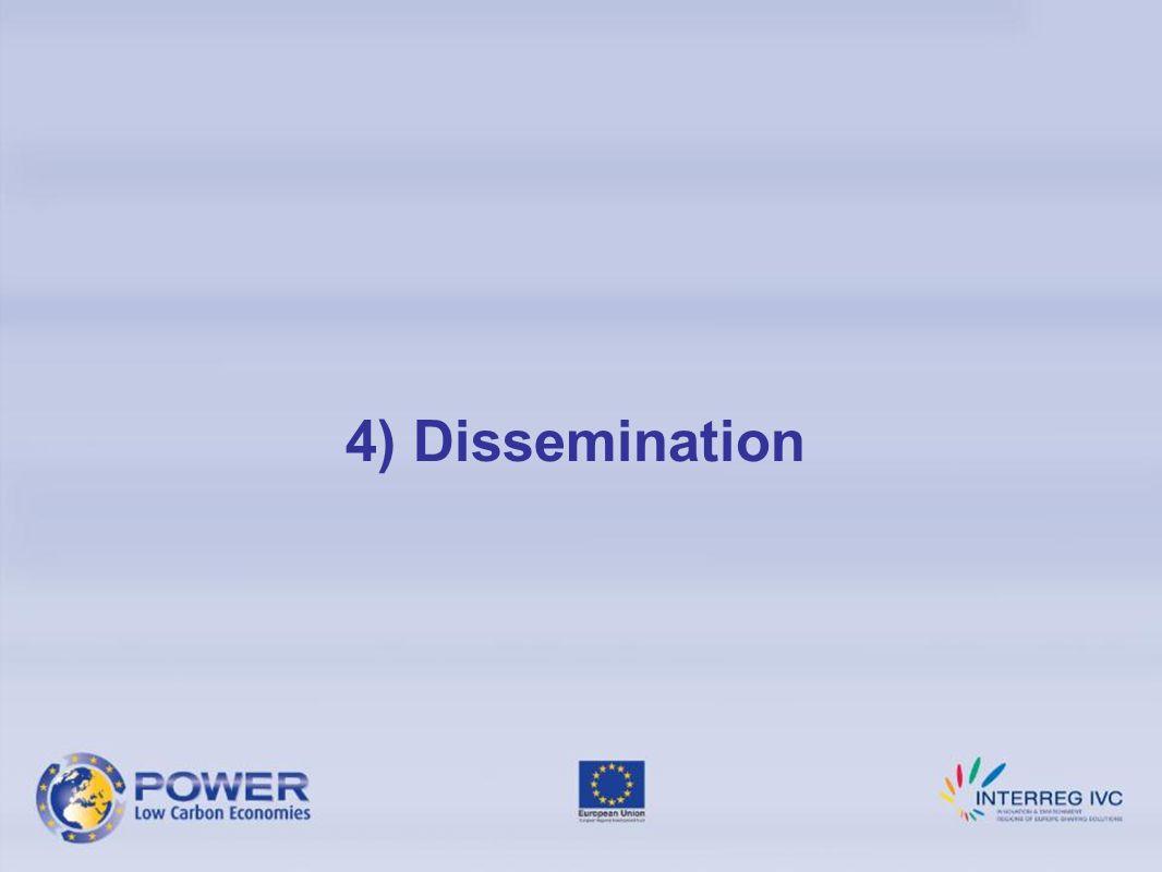 4) Dissemination