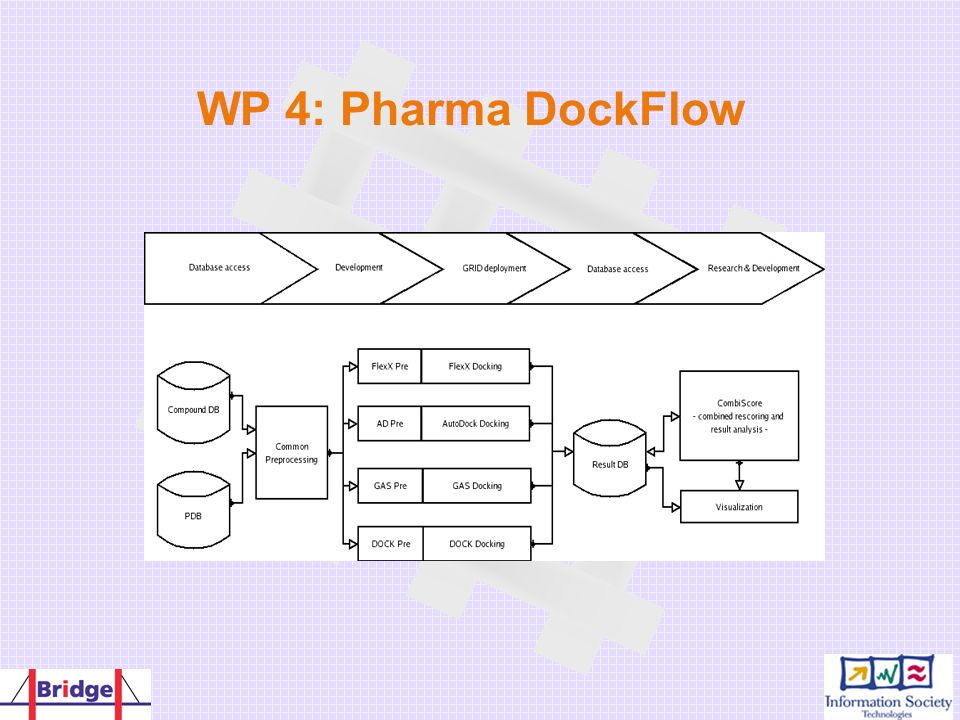 WP 4: Pharma DockFlow