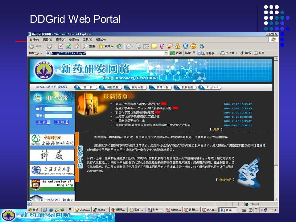 DDGrid Web Portal