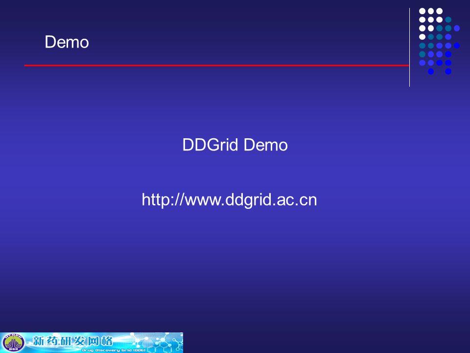 DDGrid Demo http://www.ddgrid.ac.cn Demo