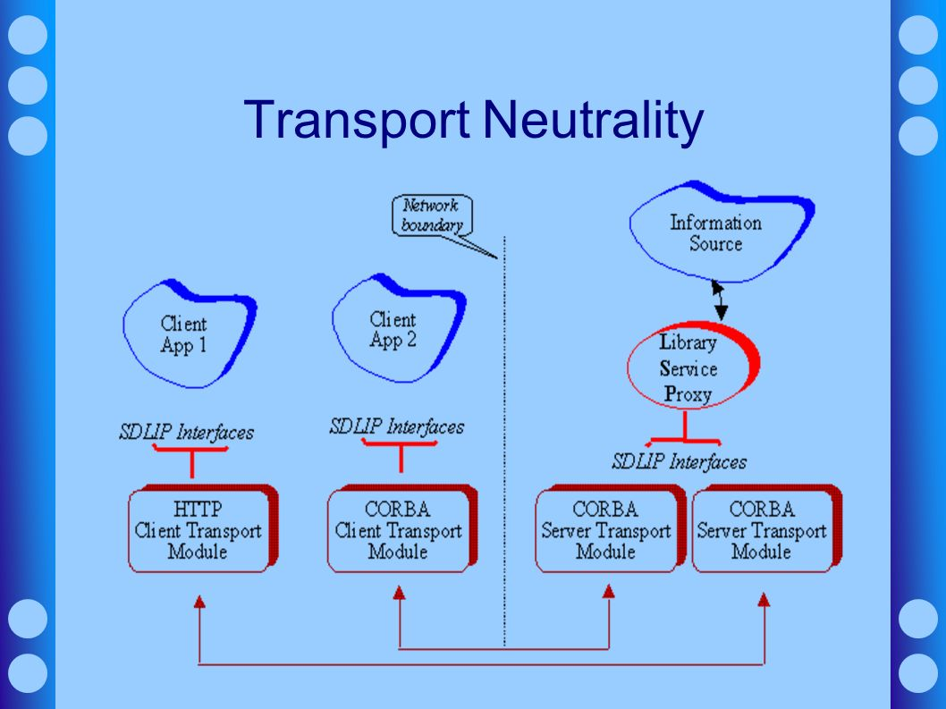 Transport Neutrality