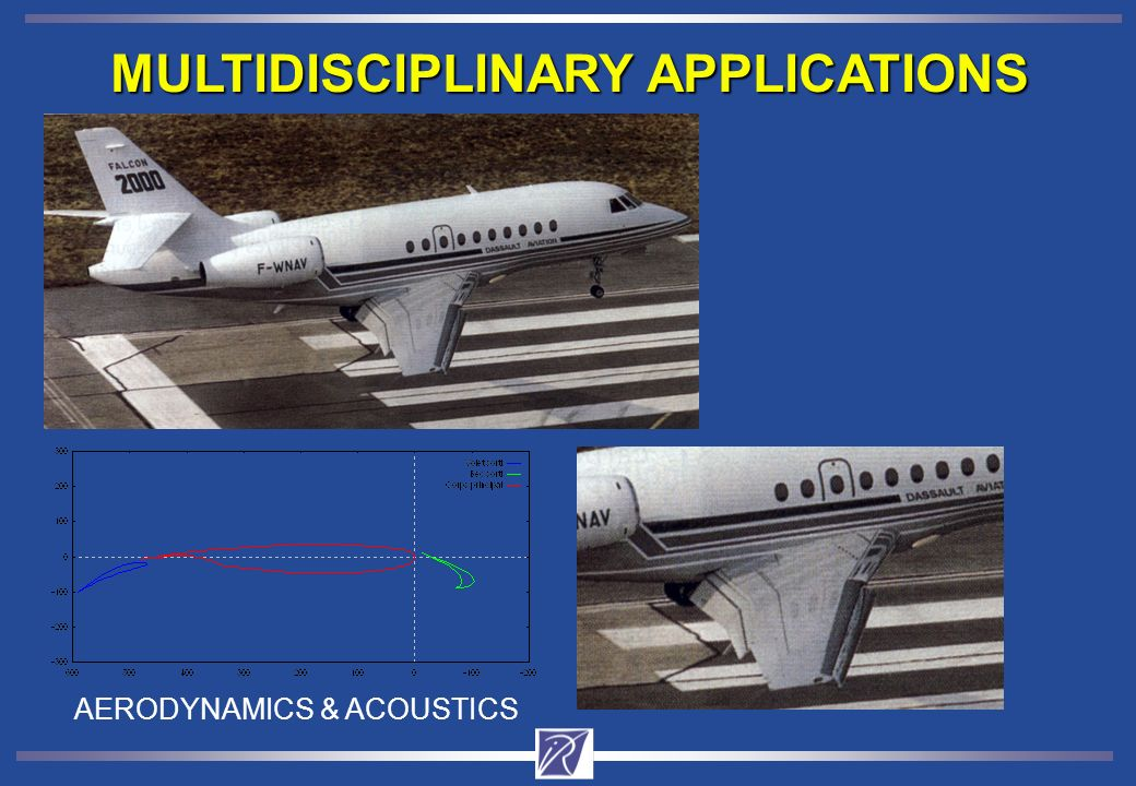 MULTIDISCIPLINARY APPLICATIONS AERODYNAMICS & ACOUSTICS
