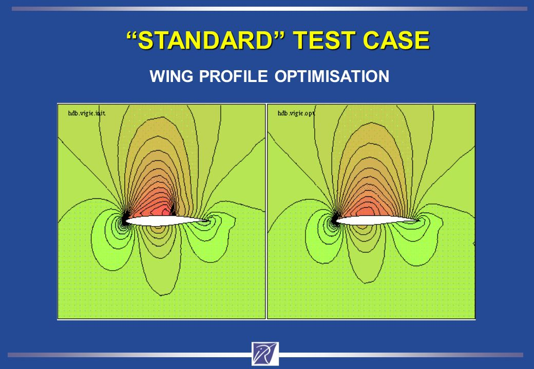 STANDARD TEST CASE WING PROFILE OPTIMISATION